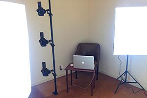 フォトスキャン方式採用で高品質な3Dデータ作成用の360度写真が撮影可能です